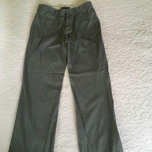 RALPH LAUREN Olive Green Chino Pants Womens 8